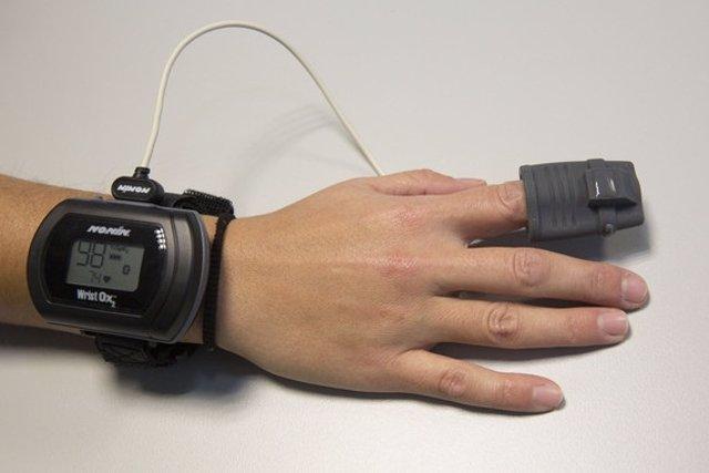 Sensor para seguimiento de apnea del sueño