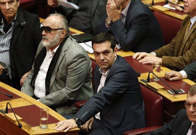 Partido Syriza  Grecia