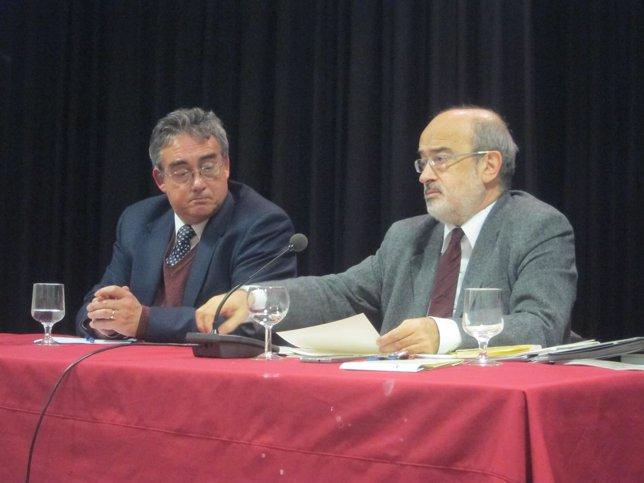 Jesús Prieto de Pedro y Tomás Mallo