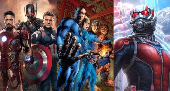 Películas de superhéroes en 2015