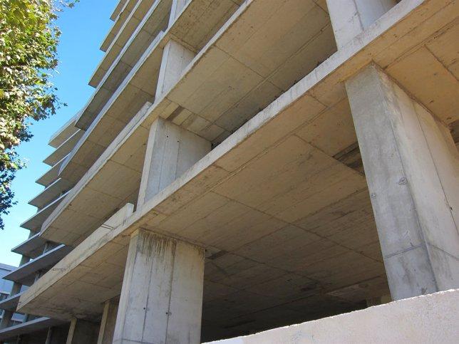 Construcción, obras, cemento