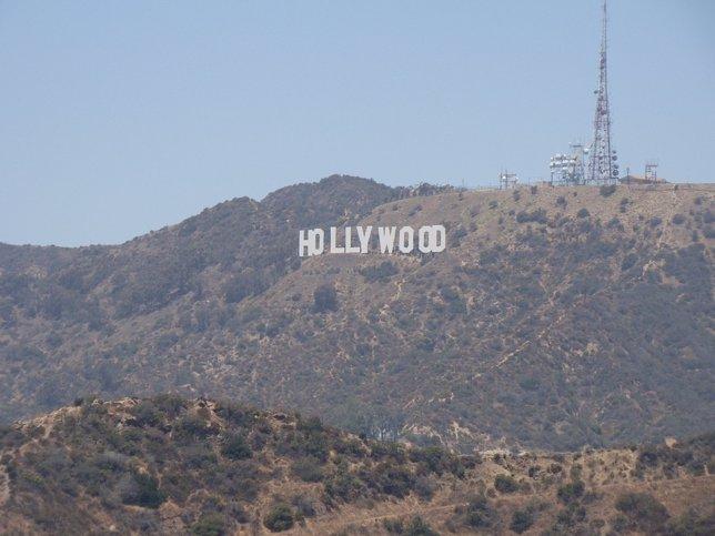Cartel letrero de Hollywood
