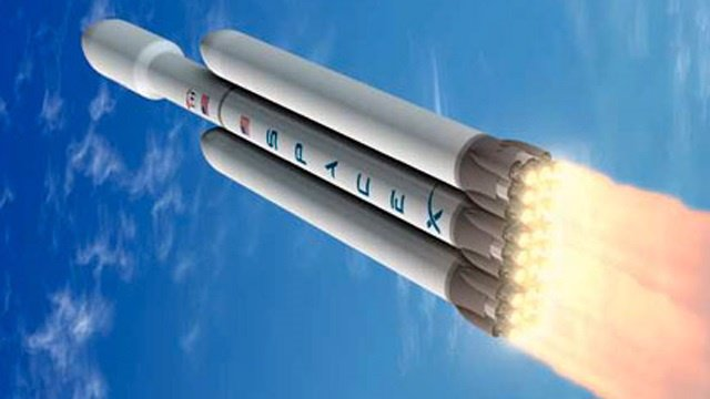 Cohete Falcon pesado
