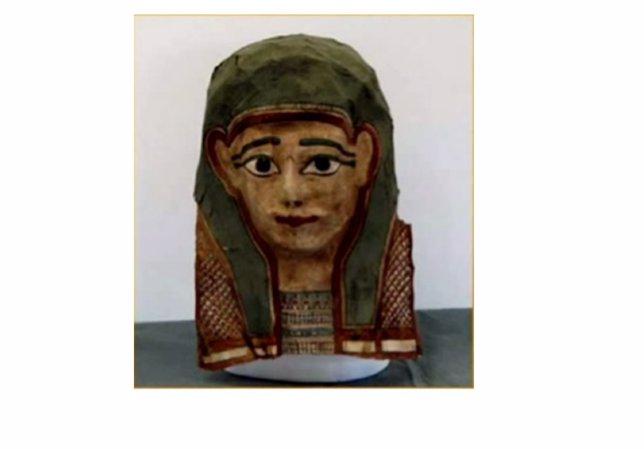 Momia que contiene el Evangelio