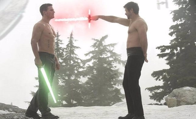 VÍDEO: Impresionante mash-up de Arrow y Star Wars