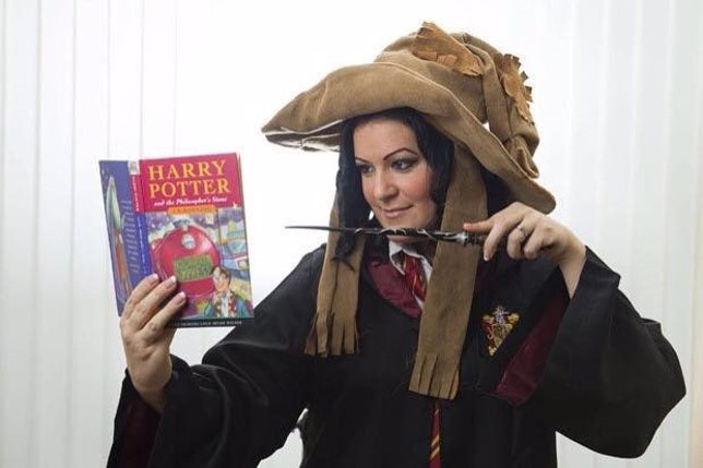 Victoria Maclean, fan de Harry Potter