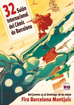 Cartel del pasado Salón Del Cómic Internacional De Barcelona
