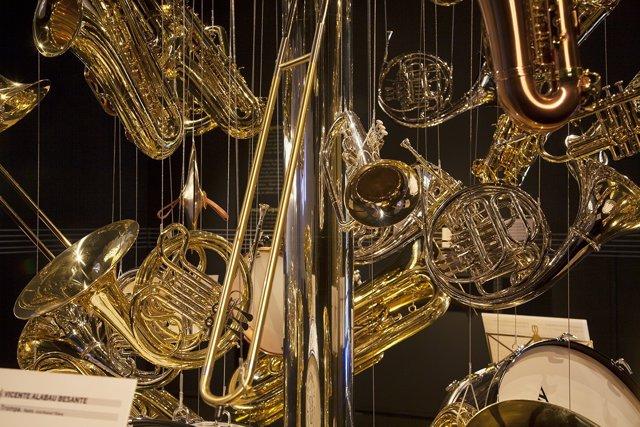 Instrumentos musicales, música, músicos, bandas.