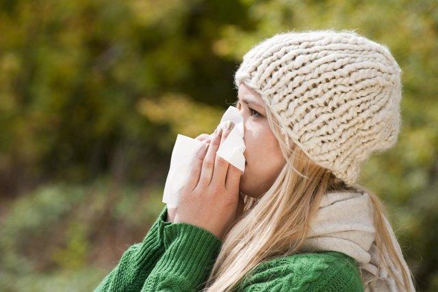 El DNI del resfriado común, estornudo, gripe, alergia
