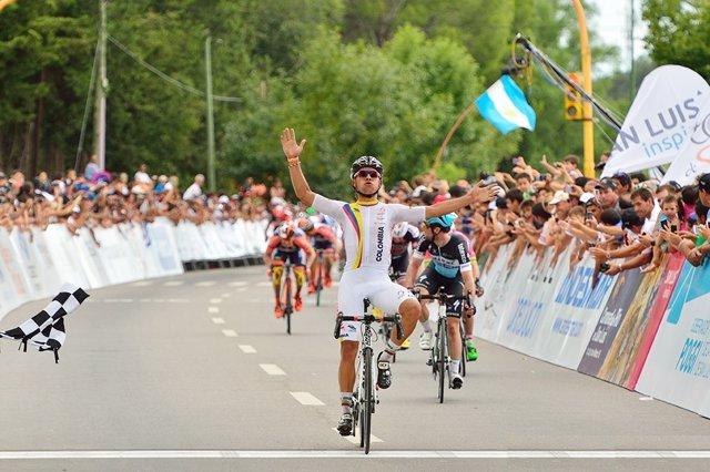 El ciclista colombiano Fernando Gaviria
