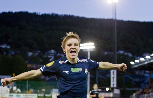El noruego Martin Odegaard, nuevo jugador del Real Madrid