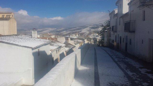 Granada tras la última nevada