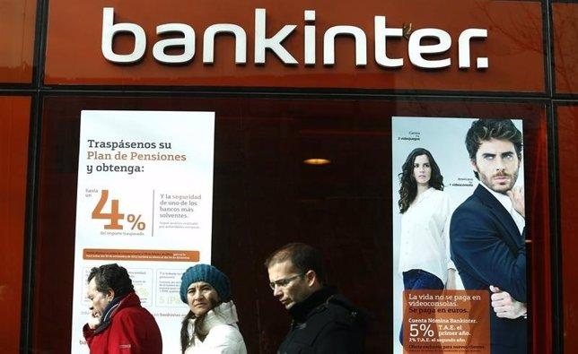 Bankinter eleva su beneficio neto un 45% en 2014, hasta 276 millones