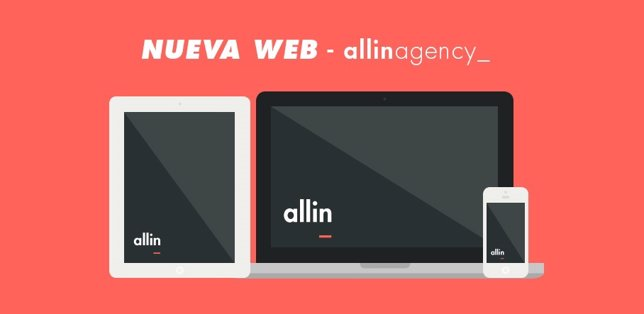 Nueva web allinagency_