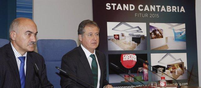 Presentación del stand de Cantabria para FITUR