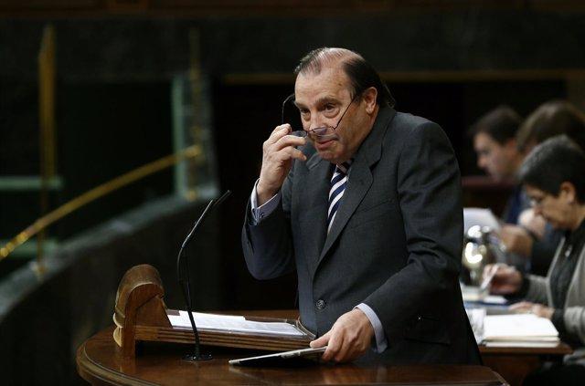 Vicente Martínez Pujalte, portavoz económico del PP