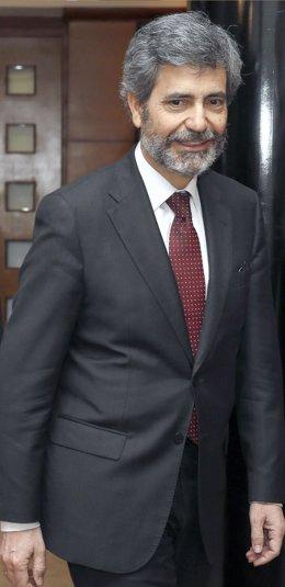 Carlos Lesmes,presidente del CGPJ y del TS