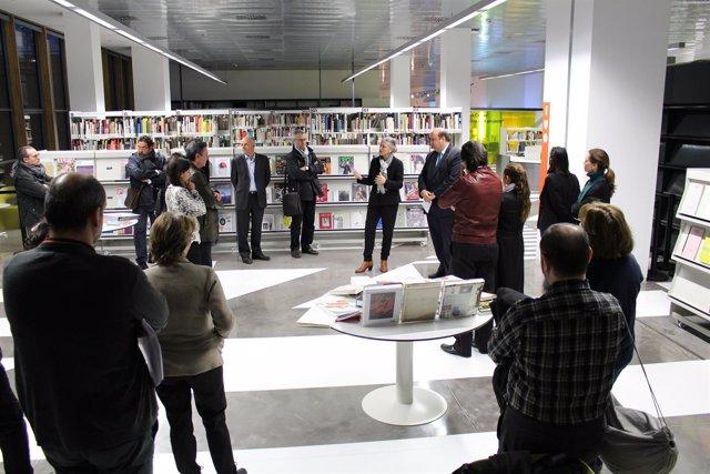 Biblioteca del Museo del Diseño de Barcelona