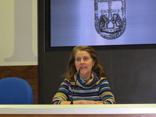 Cristina García-Pumarino, portavoz de Foro Oviedo