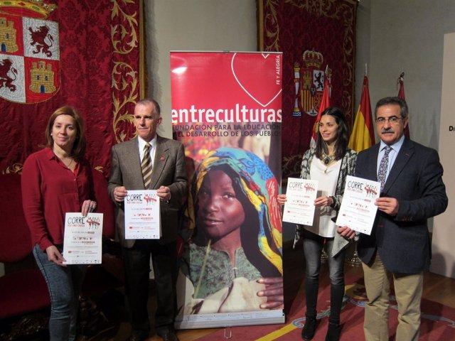 Redondo, Landáburu, Lugueros y García presentan 'Corre por una causa'