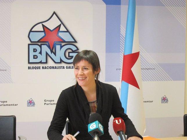 Ana Pontón, diputada del BNG