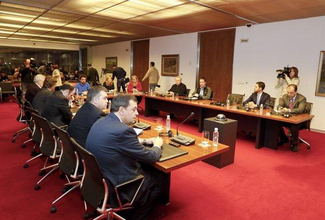 Comisión de investigación sobre Caja Navarra.