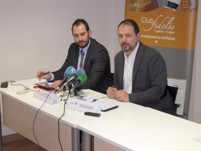 Ángel Nuevo (izquierda) y Alejandro García Pellitero (derecha)