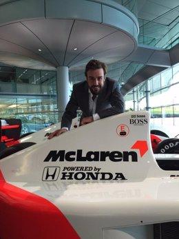 Fernando Alonso vuelve a McLaren.