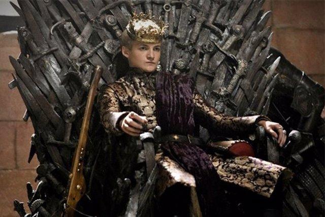 Joffrey, en el Trono de Hierro