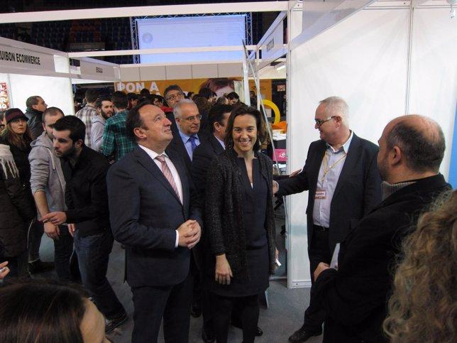 Sanz y Gamarra, en el Día del Emprendedor