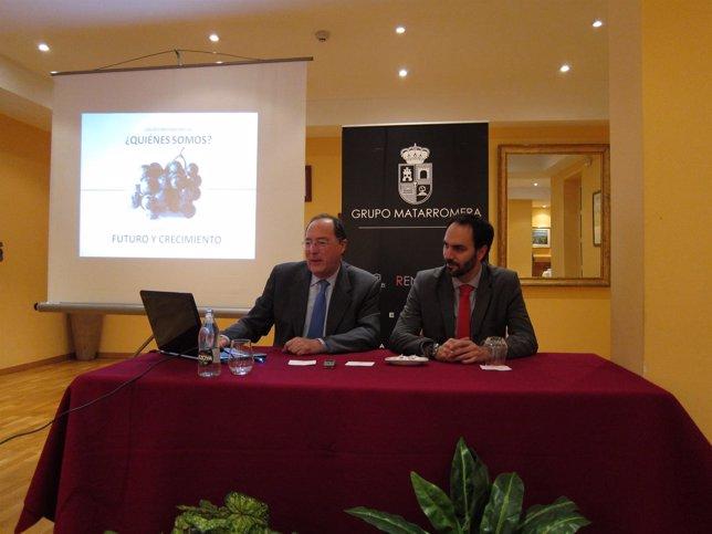 El presidente del Grupo Matarromera, Carlos Moro, presenta bodega riojana
