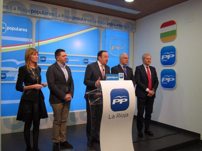 Presentación de la Convención Nacional del PP