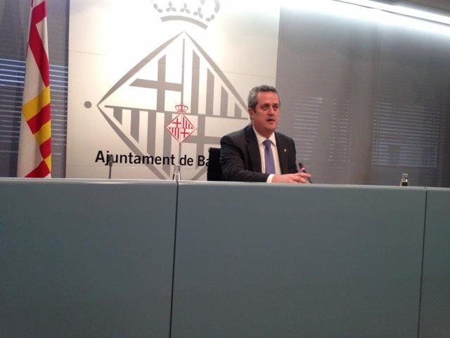 El teniente de alcalde de Seguridad del Ayuntamiento de Barcelona, Joaquim Forn