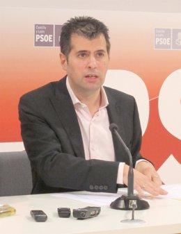 El secretario general del PSCyL, Luis Tudanca