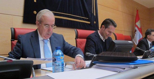 El presidente del Consejo de Cuentas, Jesús Encabo