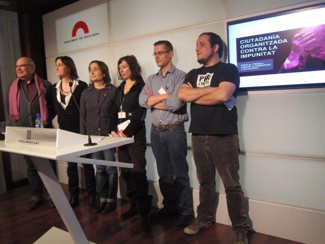 L.Rabell, I.González, M.Sibina, S.Levi, S.Salgado, D.Fernández