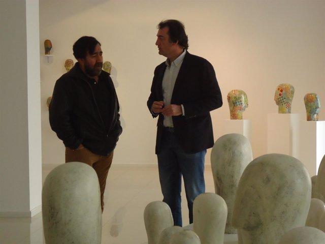 Exposición de Juan Pérez en la sala El Brocense de Cáceres