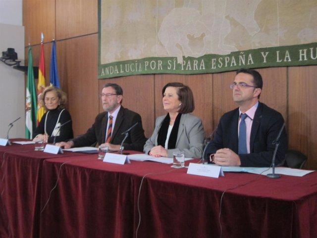 Gracia y Sánchez Rubio en el acto oficial por el Día de las Enfermedades Raras