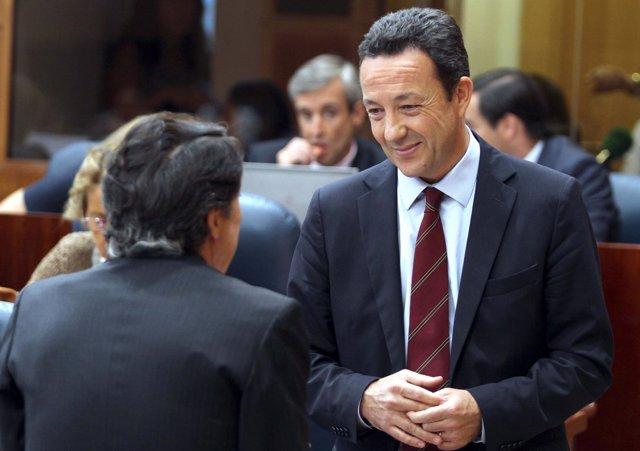 Henríquez de Luna, portavoz del PP en la Asamblea de Madrid
