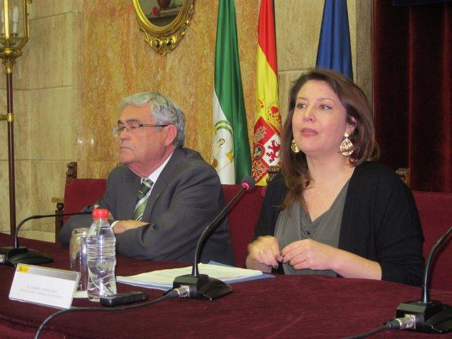 Andrés García Lorca y Carmen Crespo