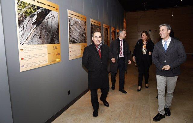 Inauguración de la muestra 'El arte de la luz'