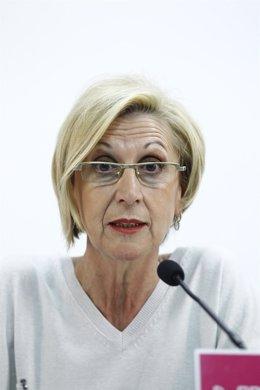 La diputada de UPyD Rosa Díez