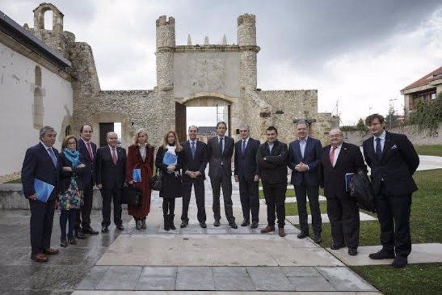 Firmantes del Pacto Local por la Innovación de Santander