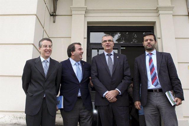 Aniversario del Observatorio de la Aemet en A Coruña.