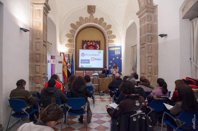 Fotos del taller de la EOI sobre turismo cultural en Cáceres