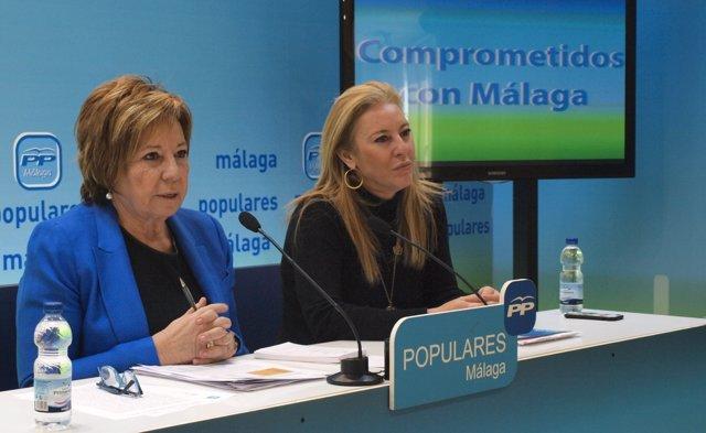 Celia Villalobos y Carolina España, PP, Málaga