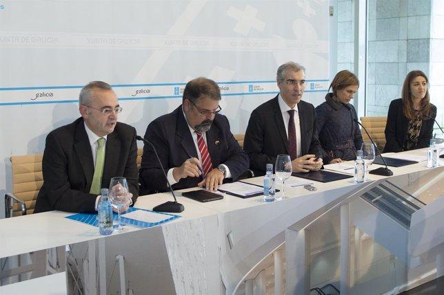 Firma entre Galicia Calidade y el Cluster de Turismo
