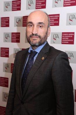 Fernando Jesús Santiago Ollero, presidente de los Gestores Administrativos