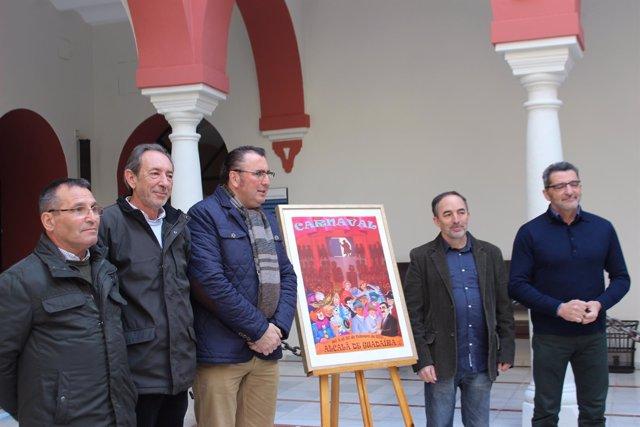 Presentación del cartel y programación de carnaval en Alcalá de Guadaíra.