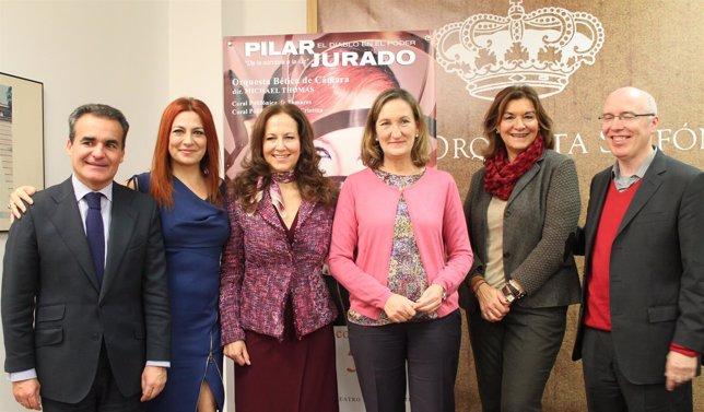 Pilar Jurado en el Teatro Maestranza